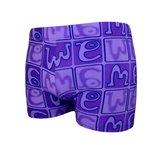 Paarse zwembroek Purple Rain