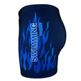 Zwemboxer Fire Navy zijkant