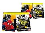 Spiderman zwembroek Yellow achterkant