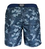 Zwemshort Military green back