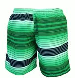 Zwemshort Sunset green back