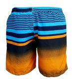 Zwemshort Sunset manderine back