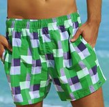 Sunflair Zwemshort Checked