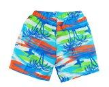 Zwemshort beachboy orange achter