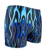 Zwemboxer Inferno Blue zijde