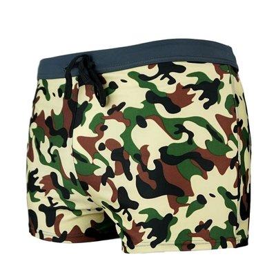 Zwemboxer Army Khaki