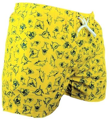 Zwemshort Sharks Yellow