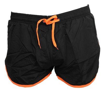 Shortshort Plus Black / Orange