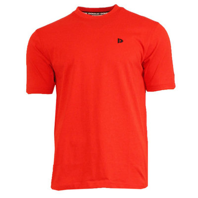 Donnay Essential Linear T-shirt (Vince) Flame Red