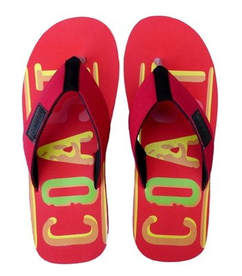 Slippers Coast Red