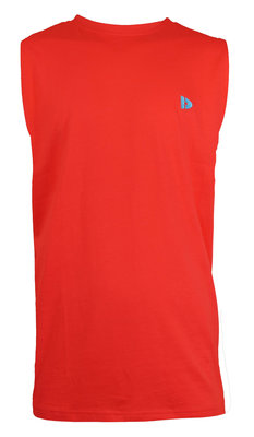 Donnay Mouwloos Shirt Rood