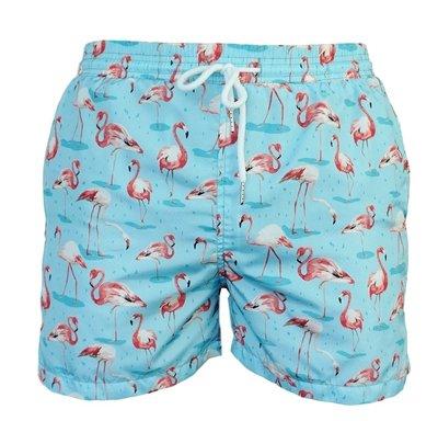 Zwemshort Flamingo Blue