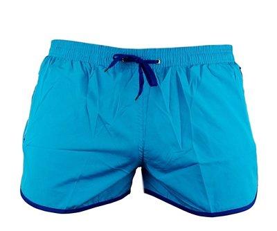 Shortshort Zipp Aqua