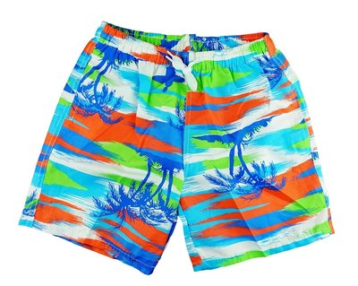 Zwemshort beachboy orange