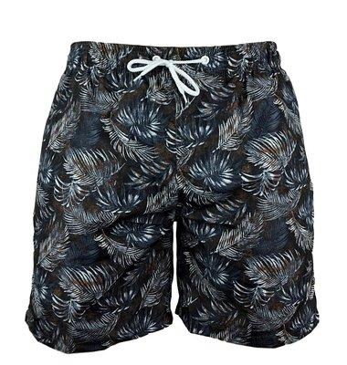 Zwemshort Ferns Black