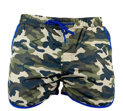 Cover Short Blue