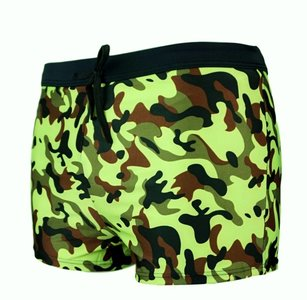 Zwemboxer Army Lime