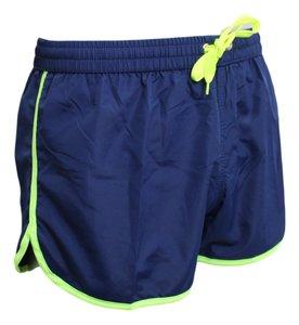 Shortshort Navy / neon groen