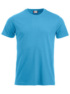 Turquoise t-shirt New Classic voorkant
