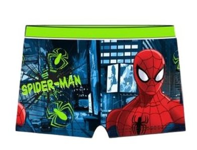 Spiderman zwembroek Lime