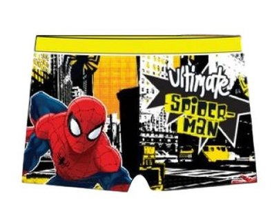 Spiderman zwembroek Yellow