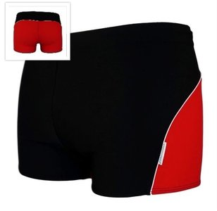 Zwemboxer Colourback Red + back