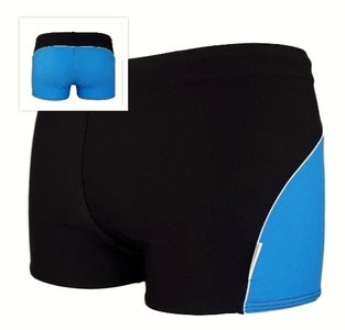 Zwemboxer Colourback Blue + back